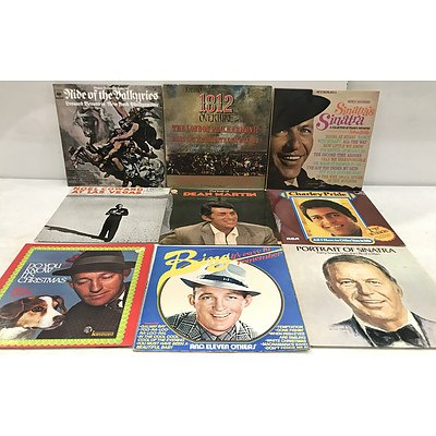 Vinyl Records 20th Century Artists - Approximately 30