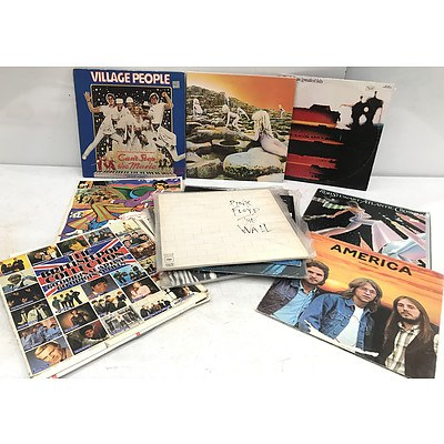 Vinyl Records Chart Topping Artists - Lot of 14