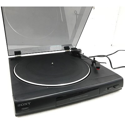 Sony PS-LX56 Automatic Stereo Turntable System