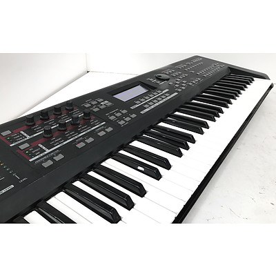 Yamaha MoX6 Music Production Synthesiser Keyboard with Stand