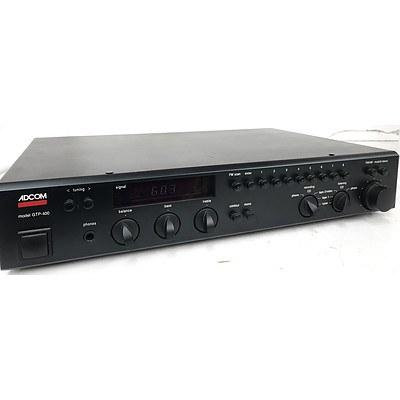 Adcom GTP-400 Control Amplifier