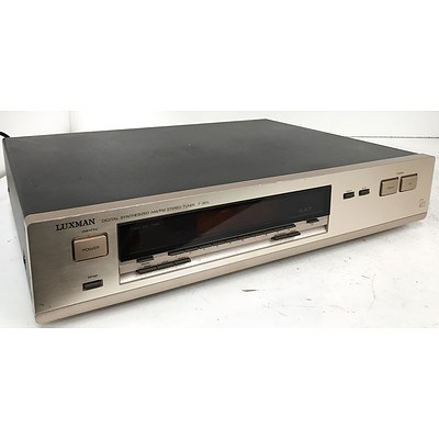 Luxman T-351L Digital Synthesized AM/FM Stereo Tuner