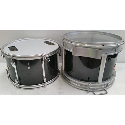 Pair of 16 Inch Marching Band Drums