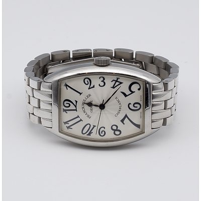 Franck Muller Geneve Casablanca Automatic Mid Size Unisex Stainless Steel Watch
