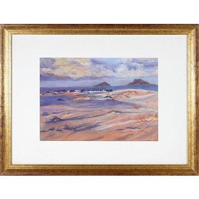 Rosemary Carlon 'Shifting Sands' Oil on Canvas