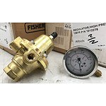 Pressure Gauges & Regulators - Brand New