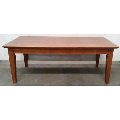 Vintage Stained Timber Coffee Table