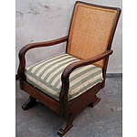 Small Timber Rocking Chair
