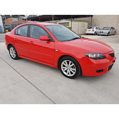 9/2006 Mazda Mazda3 MAXX Sport BK MY06 UPGRADE 4d Sedan Red 2.0L