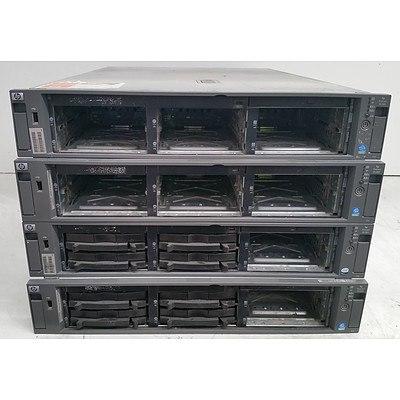 HP ProLiant DL380 G4 Xeon CPU 2RU Servers - Lot of Four