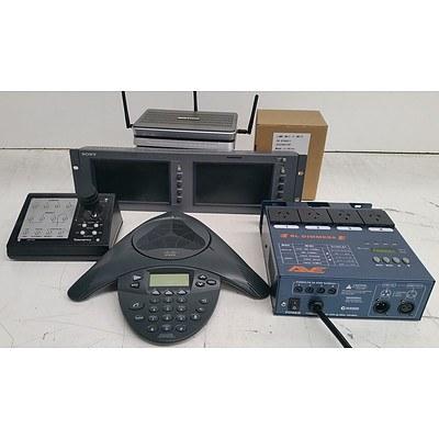 Bulk Lot of Assorted IT/AV & Office Equipment