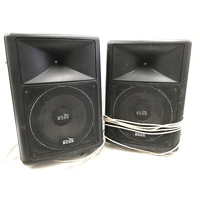 American Boss Venue 2-Way Speakers with Stands