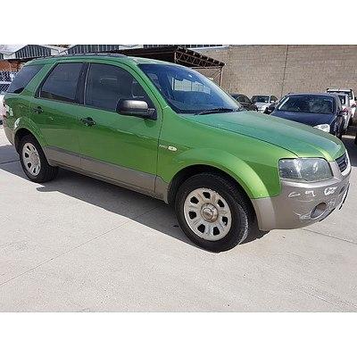 8/2004 Ford Territory TX (4x4) SX 4d Wagon Green 4.0L