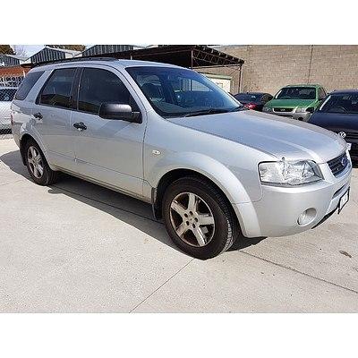 9/2004 Ford Territory TS (rwd) SX 4d Wagon Silver 4.0L