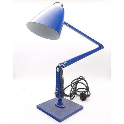 Retro Painted Tin Planet Lamp