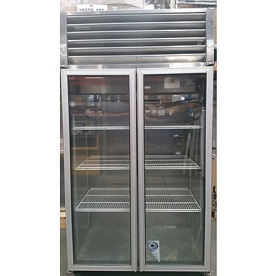 Orford 700 Litre Two Door Commercial Display Refrigerator