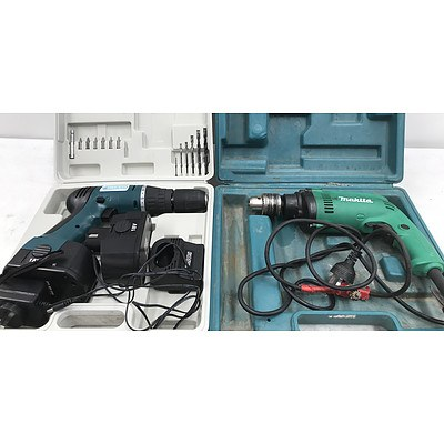 Makita & Cabac Power Tools - Lot of 2