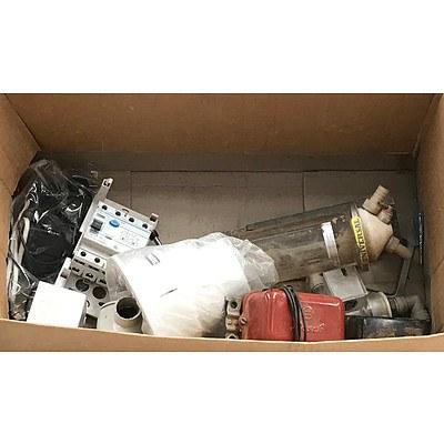 Box of Home Electronics & Regulators
