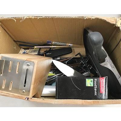 Box of Kitchenware