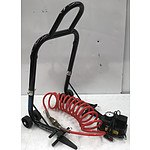 Oxford Big Black Bike Stand & Pro-Lift Air Compressor & Air Hose