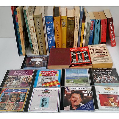 Selection of Books and CD's