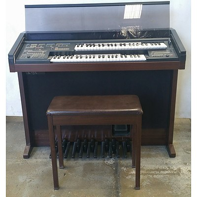 Yamaha Electone HE-8W Organ With Stool