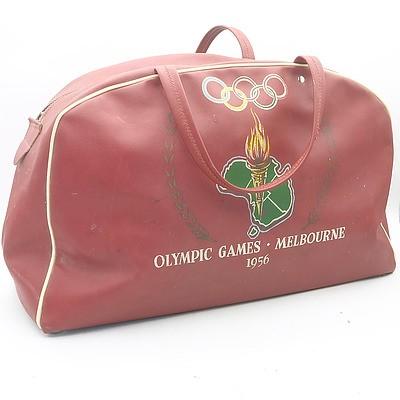 Vintage Olympic Games Melbourne 1956 Duffel Bag