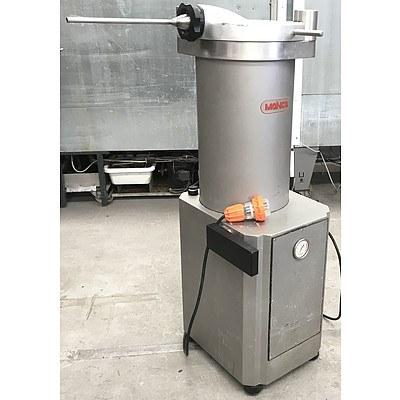 Mainca EM-30 Stainless Steel Sausage Filler & Meat Stuffer