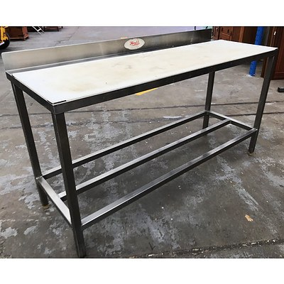 Hall Food Equipment Stainless Steel Chopping Bench