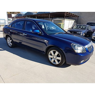 2/2008 Kia Magentis EX-L MG 4d Sedan Blue 2.4L
