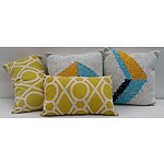 Modern contemporary Cushion - Lot of 4