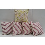 Modern contemporary Cushion - Lot of  5