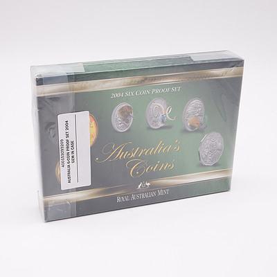 Royal Australian Mint 2004 Six Coin Proof Set