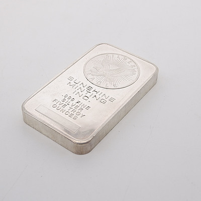 Sunshine Minting INC 5 Troy Oz .999 Fine Silver