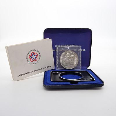 1973 Bicentennial Silver Medal John Adams and Patrick Henry