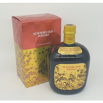 700ml Suntory Limited Design Bottle Old Whisky