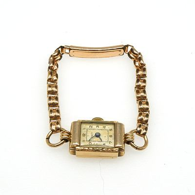 Antique Rolled Gold Women's Jewelex Watch