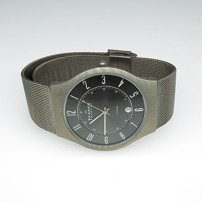 Gentleman's Danish Skagen Titanium Watch
