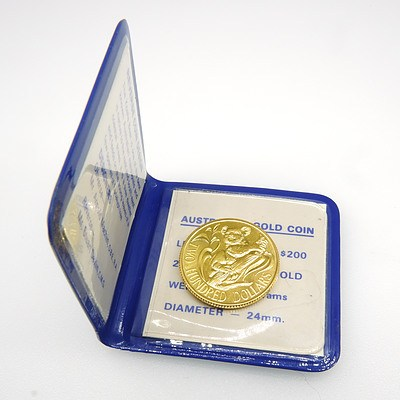 22ct Gold Two Hundred Dollar Coin