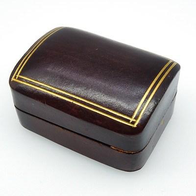 Beautiful Italian Gilt Tooled Leather Box