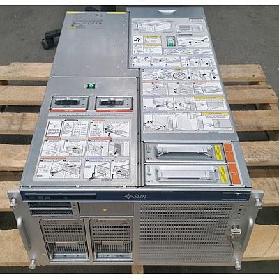 Sun MicroSystems SPARC Enterprise M4000 SPARC64 CPU 4 RU Server