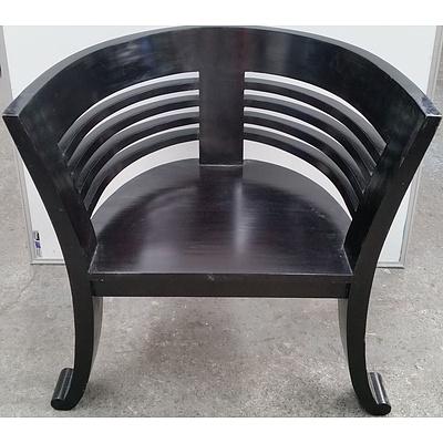 Oriental Style Tub Chair