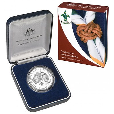 Australian 2008 $5 Silver Proof Coin