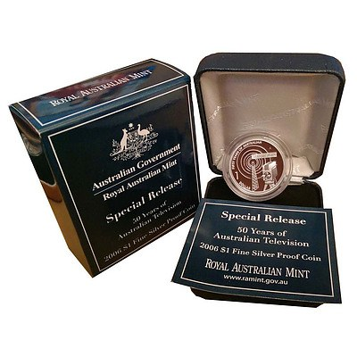 Australian 2006 $1 Silver Proof Coin