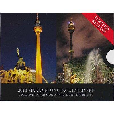 Australian 2012 Berlin Money Fair Uncirculated Set