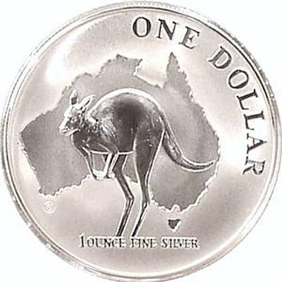 Australian Silver Roo $1 2000