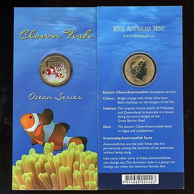 Australian 2006 Clown Fish Dollar