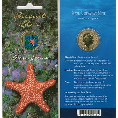 Australian 2007 Star Fish Dollar