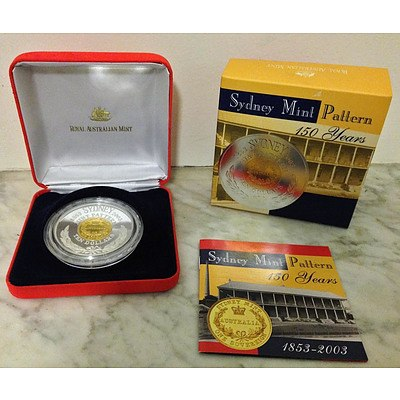 Australian 2003 Ten Dollar Silver Proof Coin
