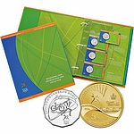 Australian 2006 Melbourne Games Coin Set In Album